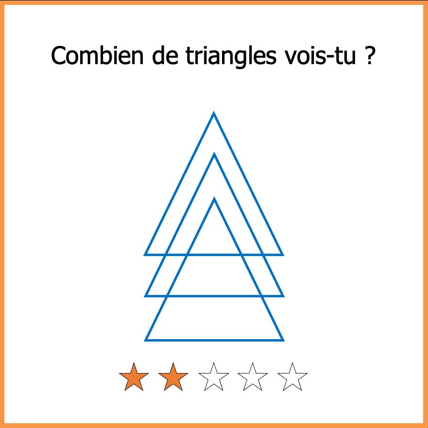 Enigmes facile triangles