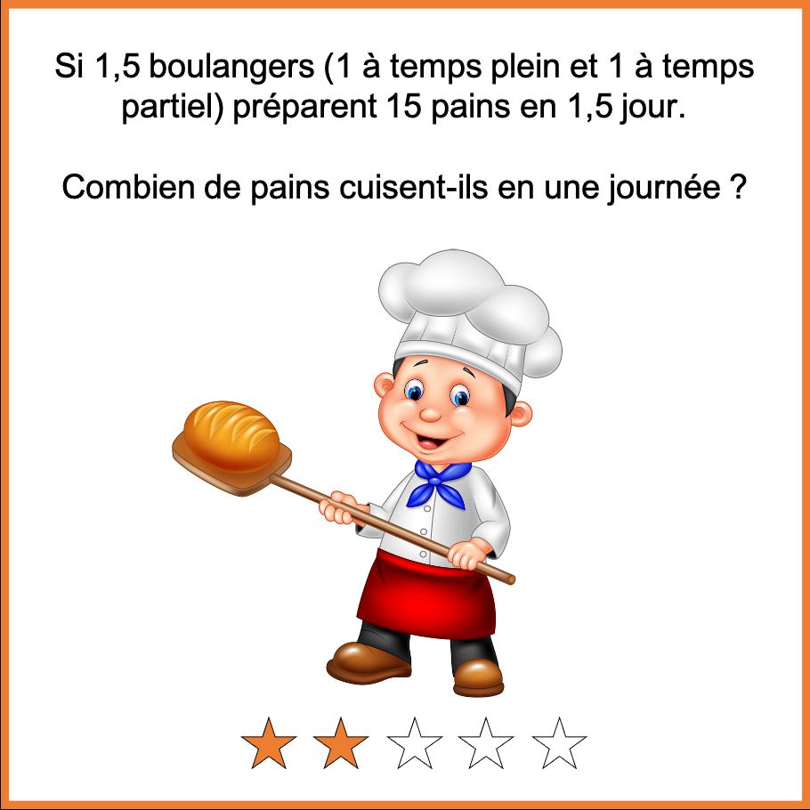 Enigmes mathematiques Boulanger